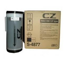 Encre Riso (S-4877) Noir VE 2 unités pour CZ Series, CZ180