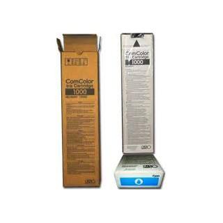 Encre Riso (S-6301E) Cyan 1 x 1000ml pour ComColor 7050, 9050, 3010