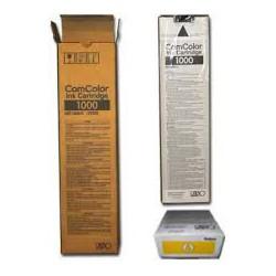 Encre Riso (S-6303E) Jaune 1 x 1000ml pour ComColor 7050, 9050, 3010