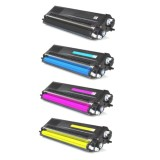 2 Packs de 4 toners compatibles Brother TN-910 BK/C/Y/M + 1 kit de fusion D00C55001 gratuit