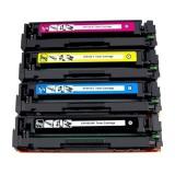 Pack de 4 toners compatibles HP CF410A 11A/12A/13A + rouleau d'entrainement papier HP gratuit