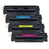 Pack de 4 cartouches de toner compatibles HP CF410X 11X/12X/13X + Kit Roller pour Imprimante HP pour Bac 2 gratuit