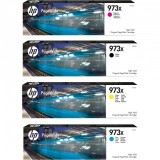 Lot 4 cartouches HP PageWide Pro452/477 + Kit nettoyage tête d'impression HP Pagewide et Officejet Pro X451/X476/X576/X551