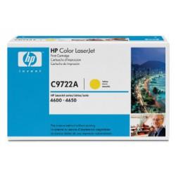 C9722A Toner Jaune pour imprimante HP Color Laserjet 4600 et 4650