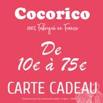 Carte cadeau Cocorico